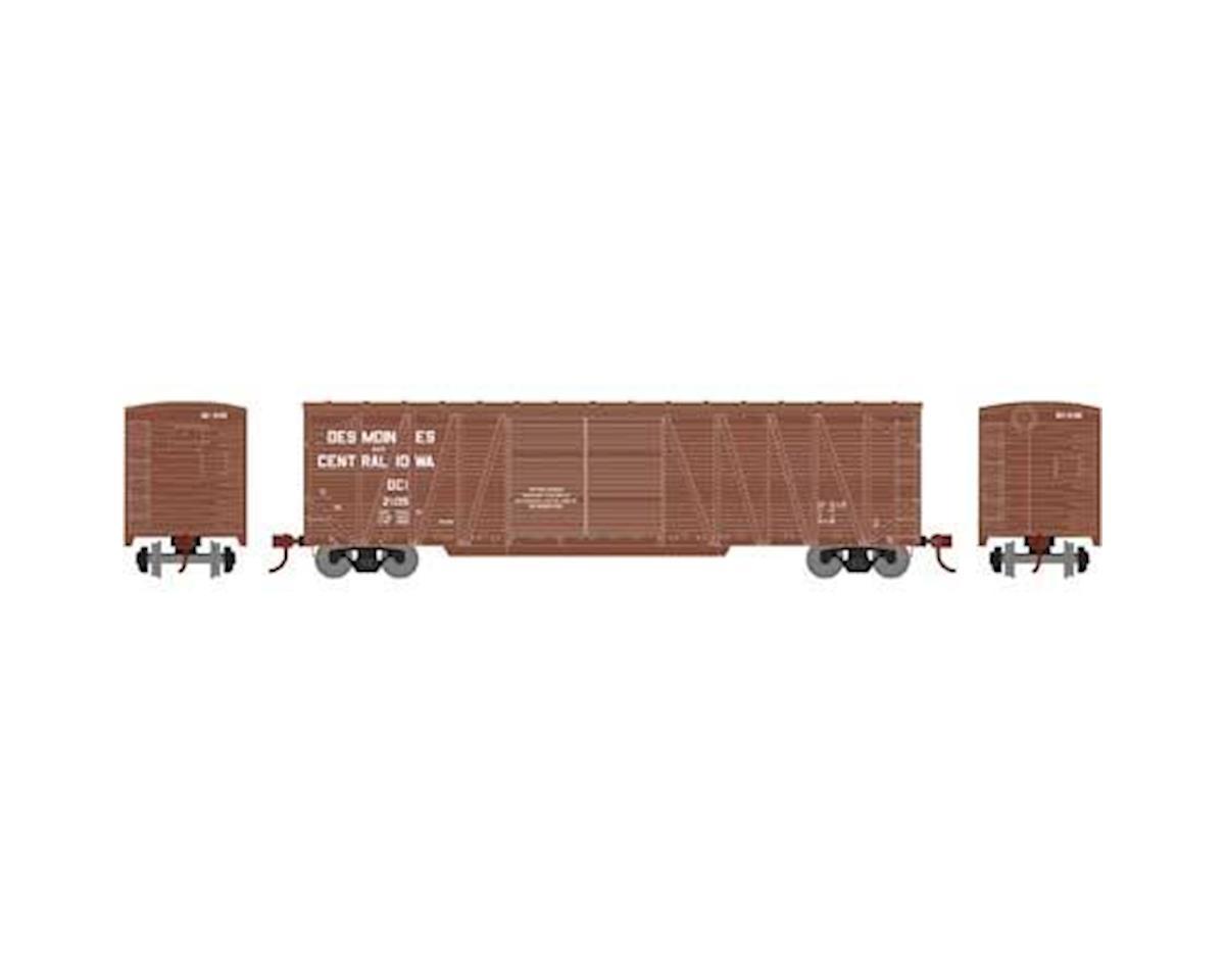 HO RTR 50' Single Sheathed Box, D&CI #2105 by Athearn