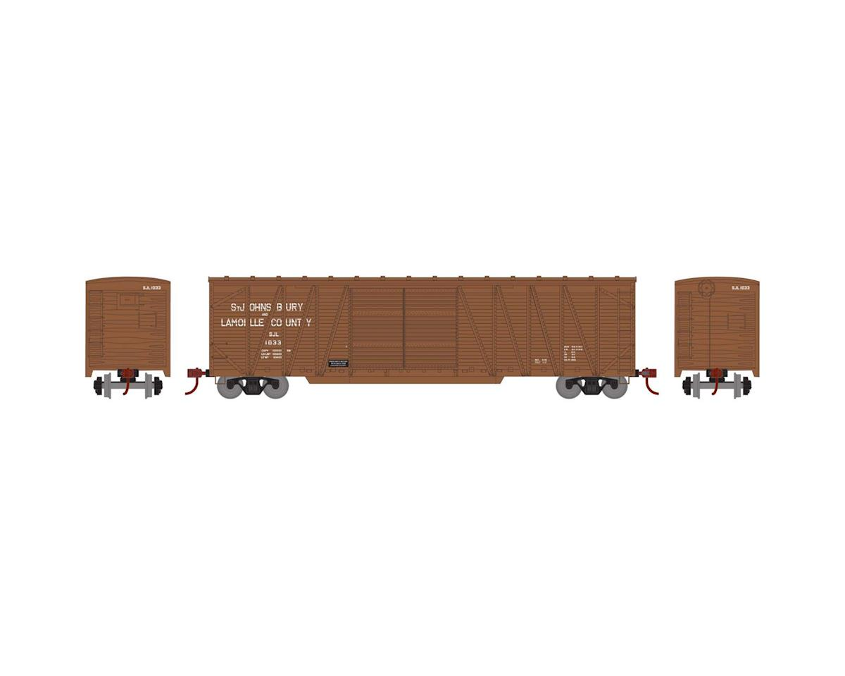 Athearn HO RTR 50' Single Sheathed Box, SJ&L #1033