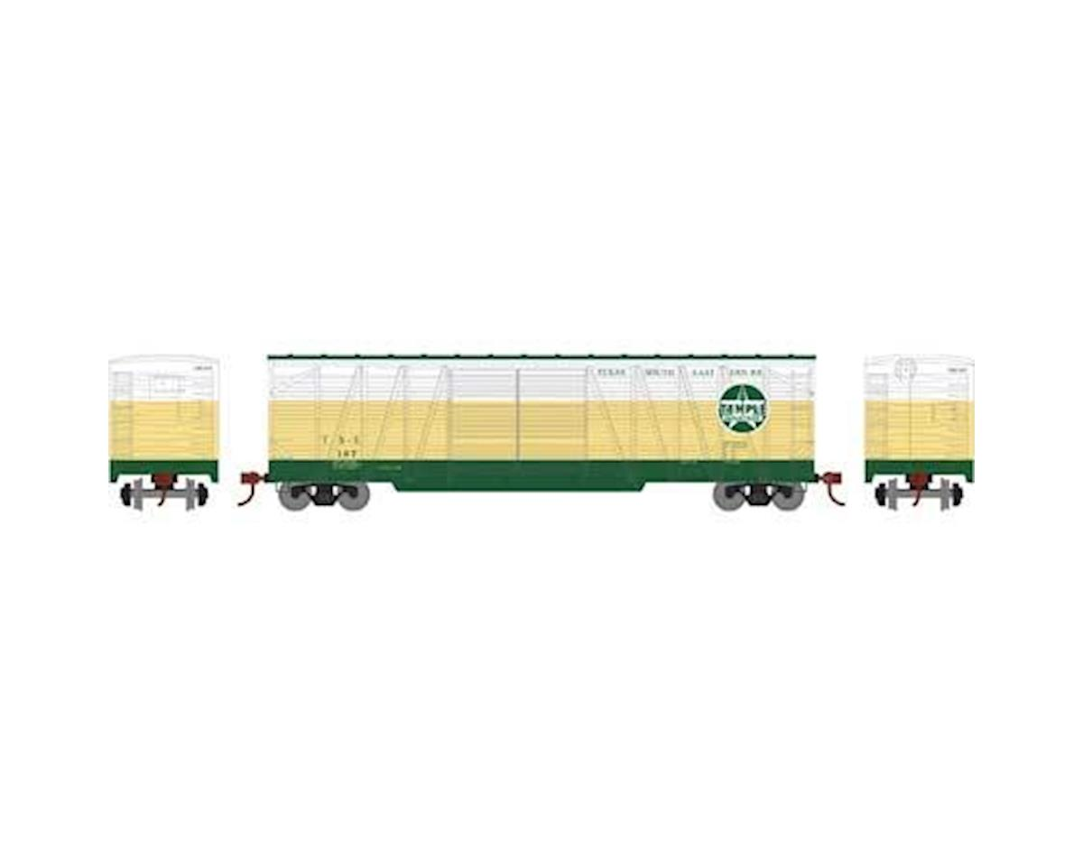 Athearn HO RTR 50' Single Sheathed Box, TS&E #107