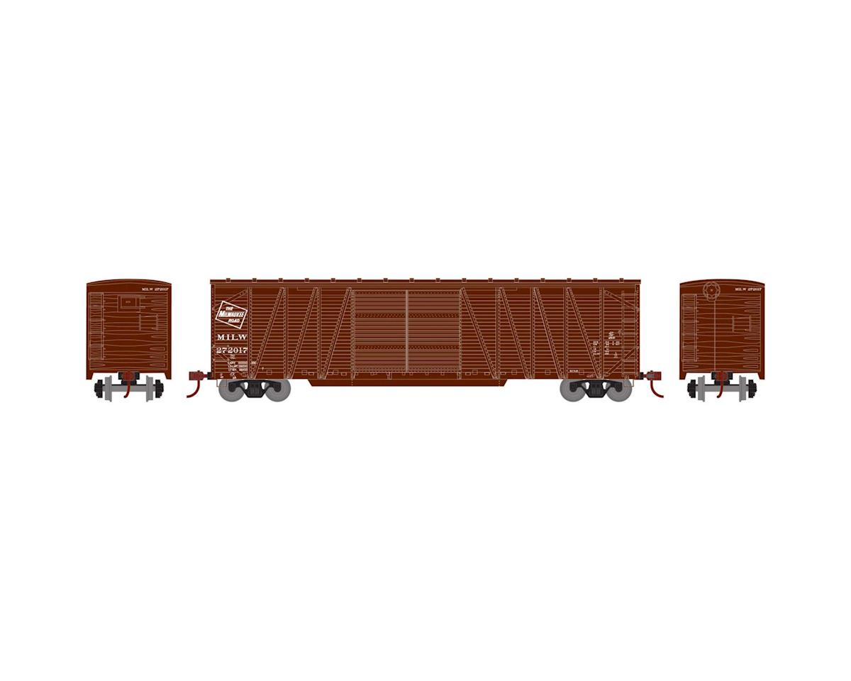 Athearn HO RTR 50' Single Sheathed Box, MILW #272017