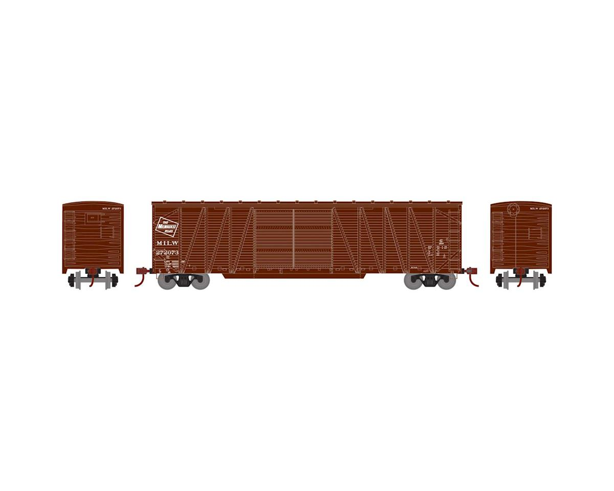 Athearn HO RTR 50' Single Sheathed Box, MILW #272073