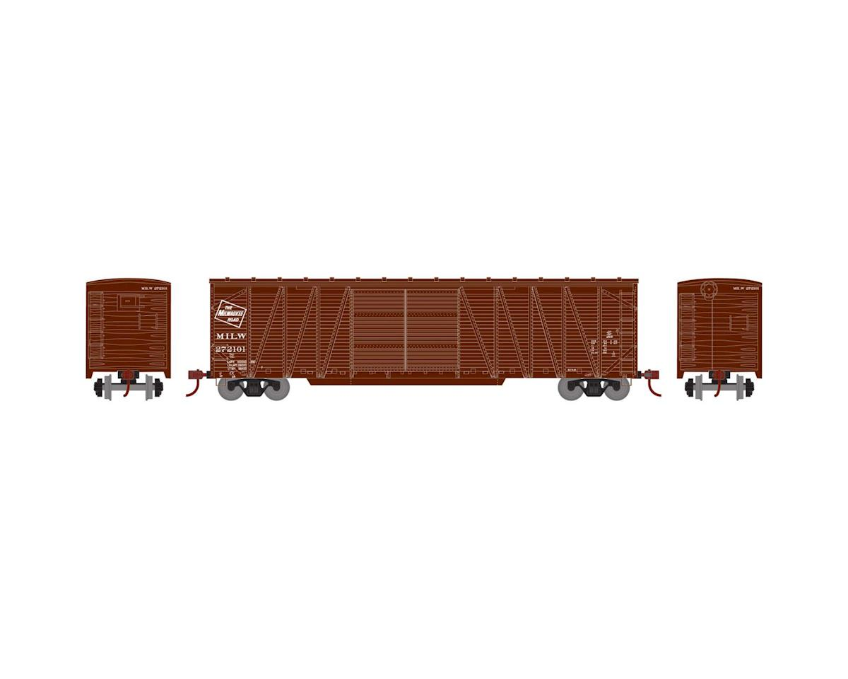Athearn HO RTR 50' Single Sheathed Box, MILW #272101
