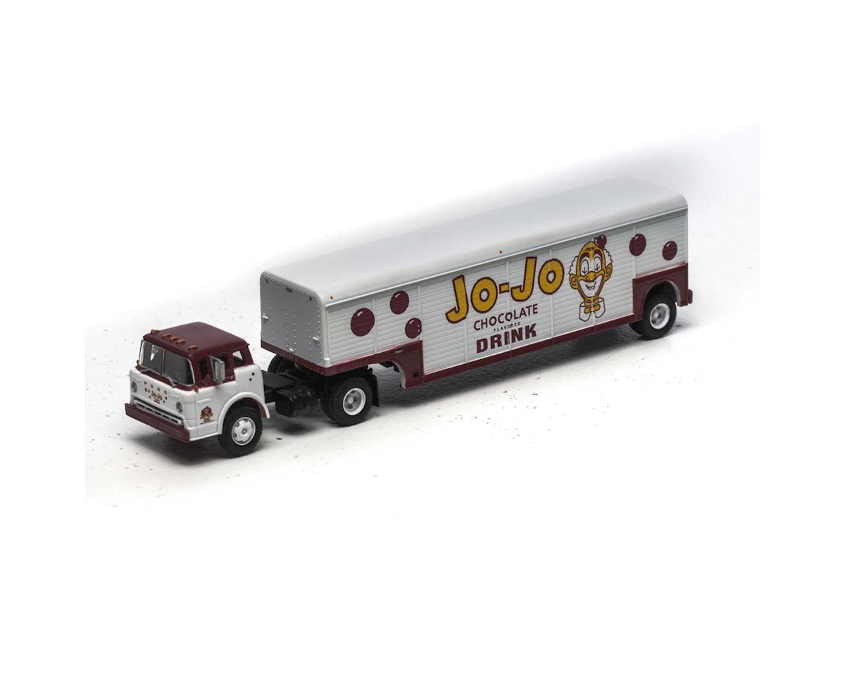 Athearn HO Ford C w/Beverage Trailer,Jo-Jo Chocolate Drink