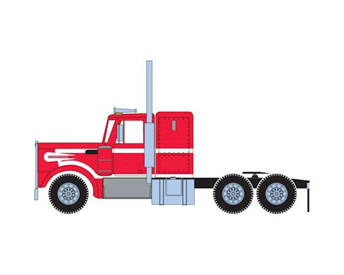 Athearn HO RTR Kenworth Tractor, Red/White