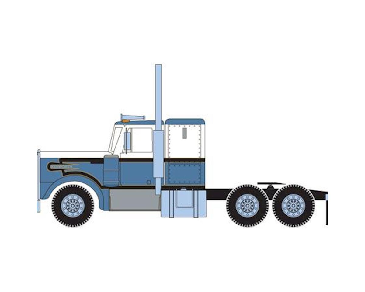 Athearn HO RTR Kenworth Tractor, Blue/White