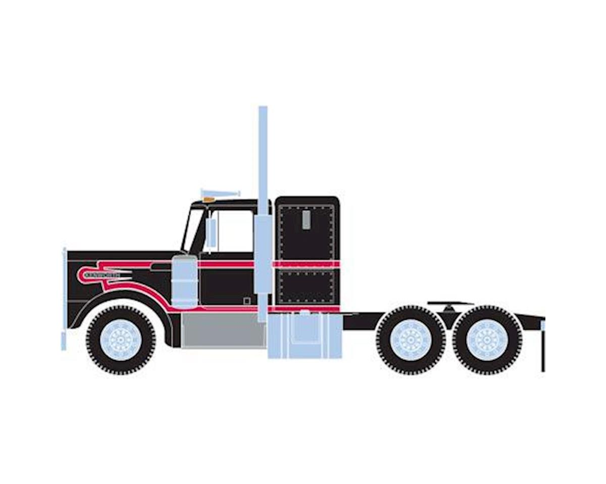 Athearn HO RTR Kenworth Tractor, Black/Red