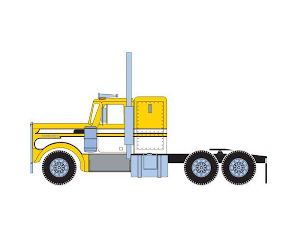 Athearn HO RTR Kenworth Tractor, Yellow/White