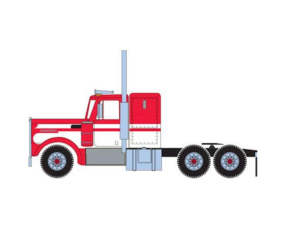 Athearn HO RTR Kenworth Tractor, White/Red