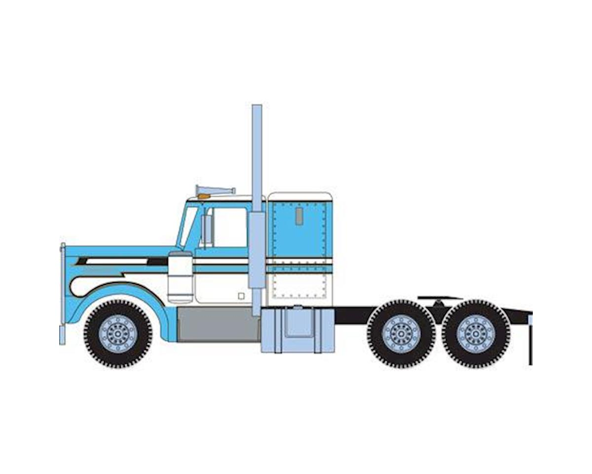 Athearn HO RTR Kenworth Tractor, Lt Blue/White