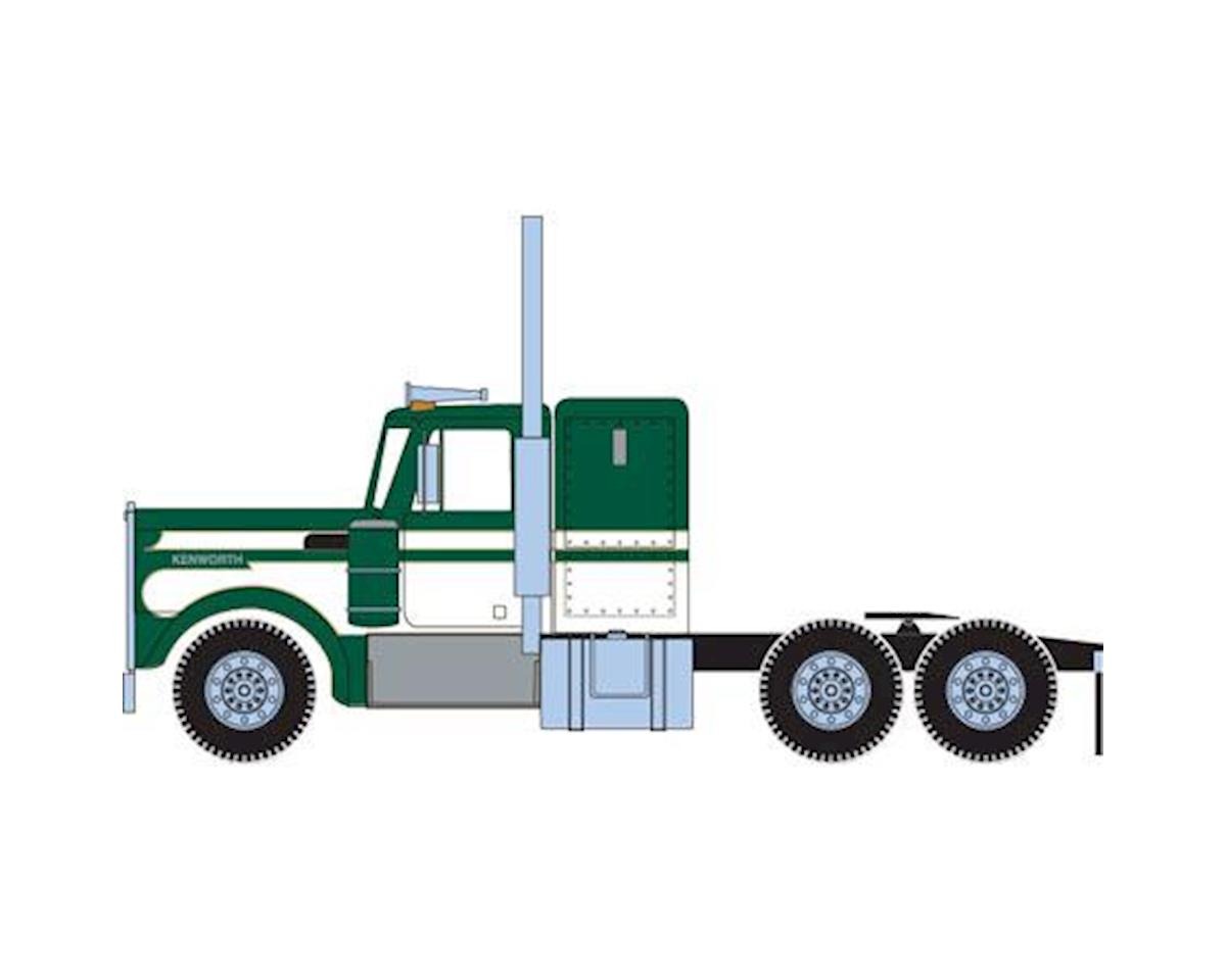 Athearn HO RTR Kenworth Tractor, Green/White