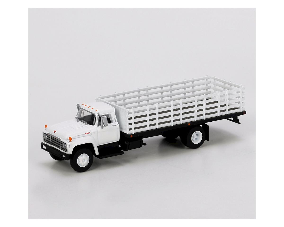 Athearn HO RTR Ford F-850 Stakebed Truck, White