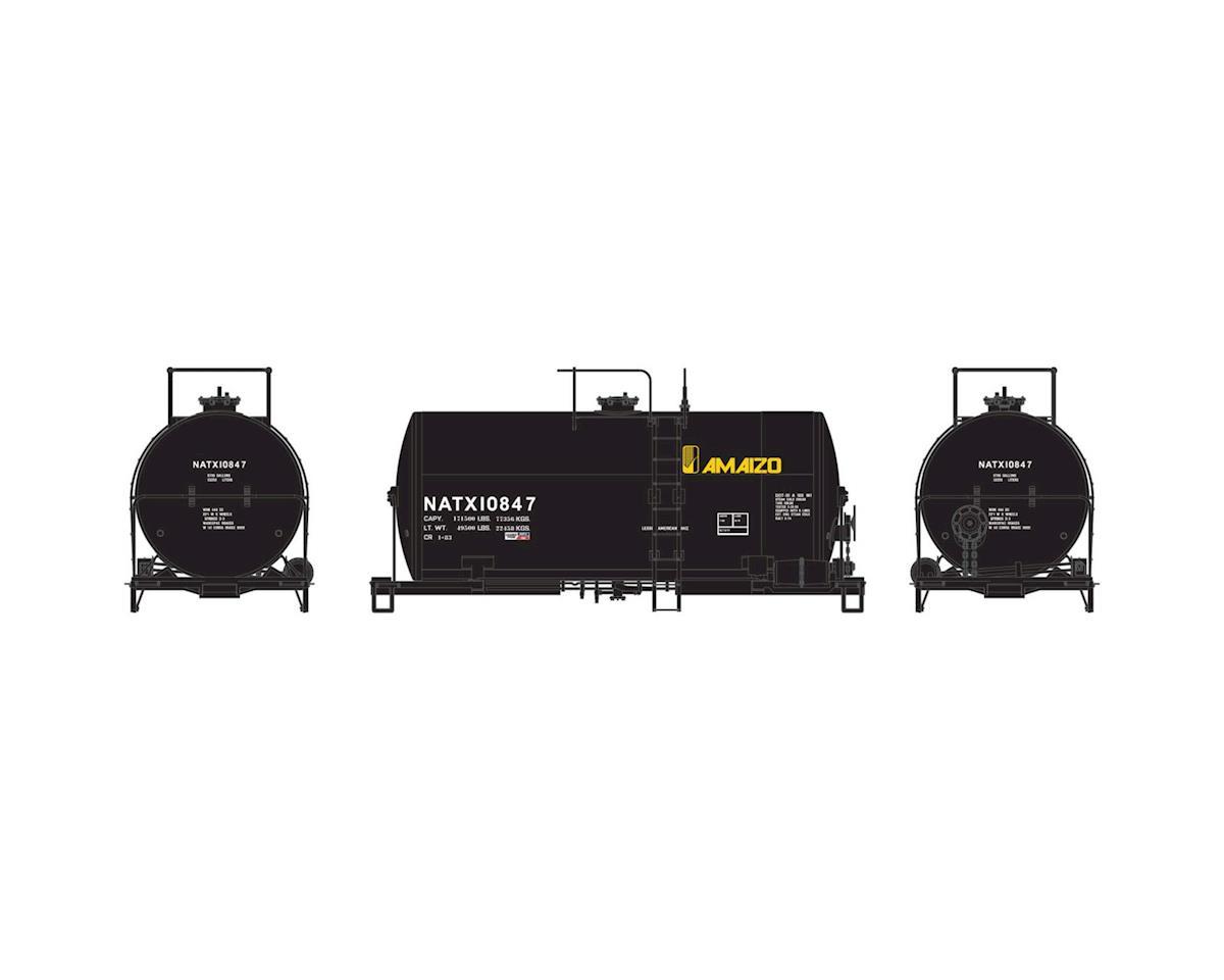Athearn HO RTR 30' NACC 8,000-Gal Tank, Amaizo/NATX #10847
