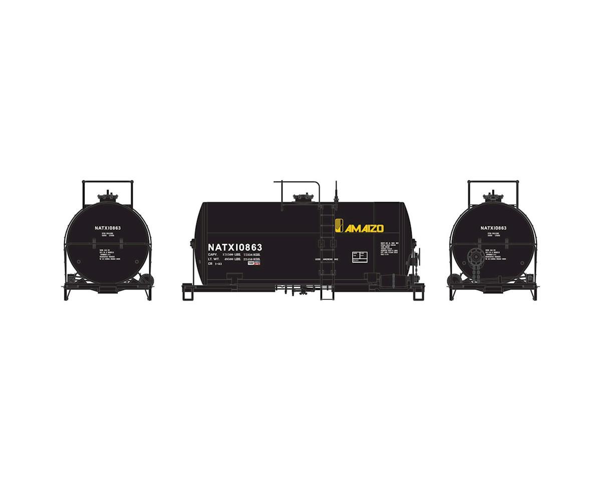 Athearn HO RTR 30' NACC 8,000-Gal Tank, Amaizo/NATX #10863