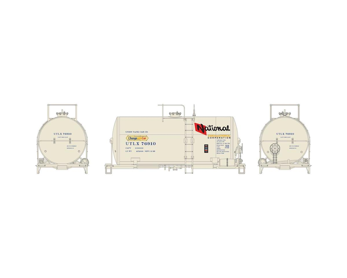 Athearn HO RTR 30' NACC 8,000-Gal Tank, NS&CH/UTLX #76910