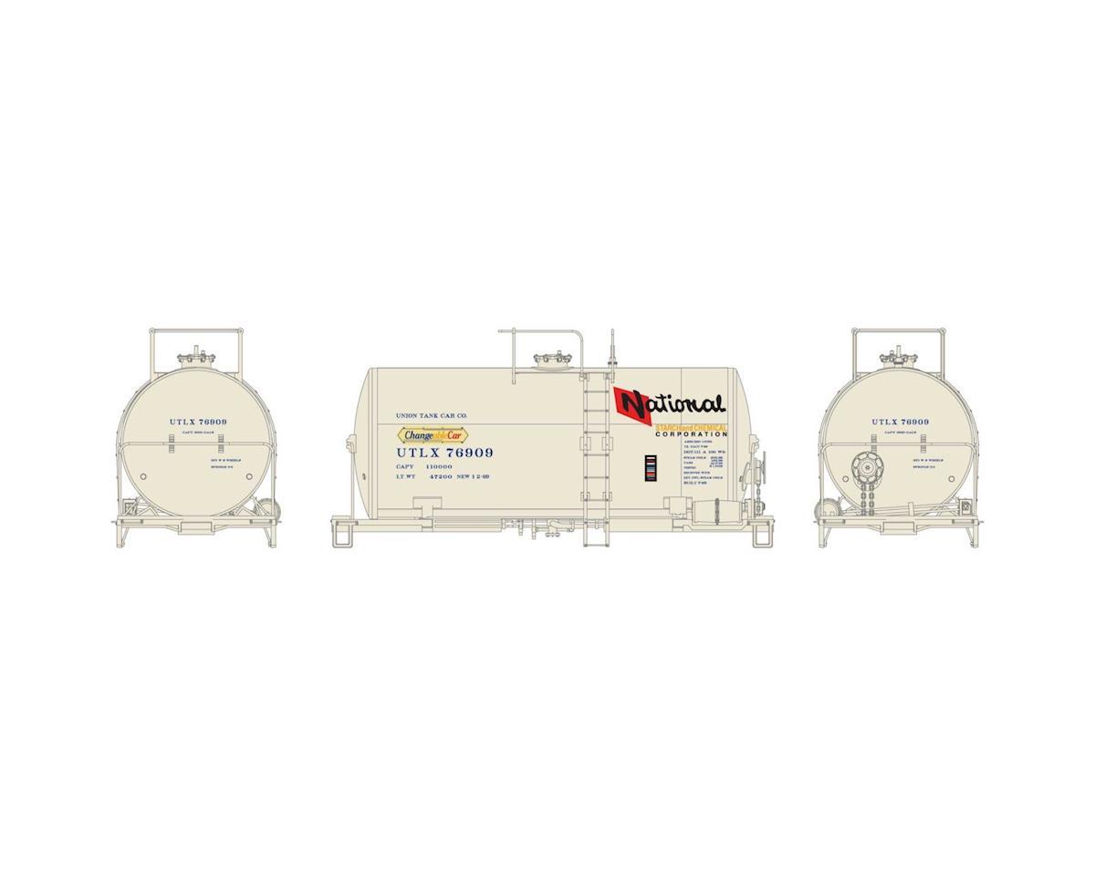Athearn HO RTR 30' NACC 8,000-Gal Tank, NS&CH/UTLX #76909