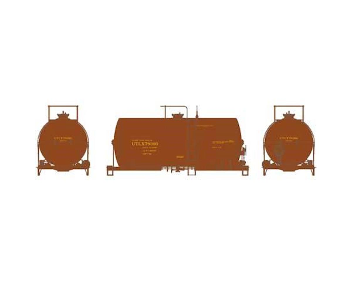 Athearn HO RTR 30' NACC 8,000-Gal Tank, UTLX/Brown #78360