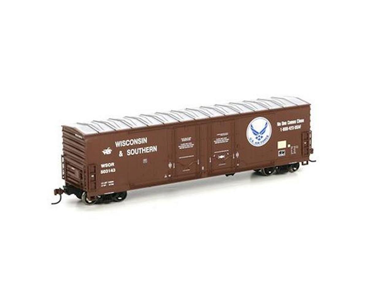 Athearn HO RTR 50' DD Plug Box, WSOR/USAF