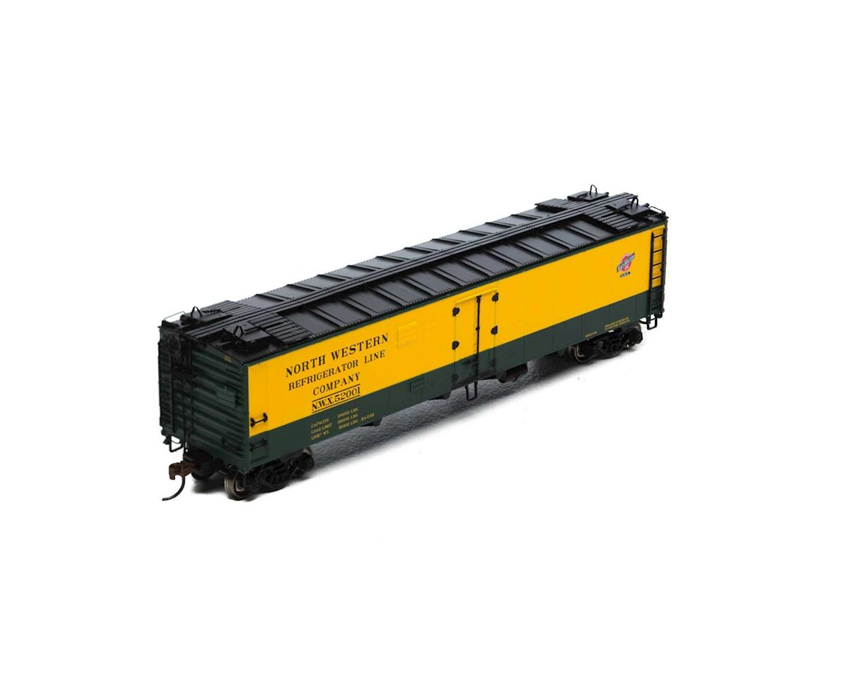 Athearn HO RTR 50' Ice Bunker Reefer, C&NW #52001