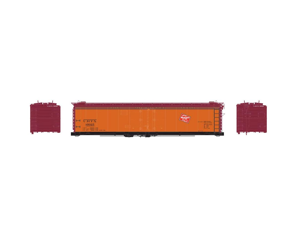 Athearn HO RTR 50' Ice Bunker Reefer, MILW #89025