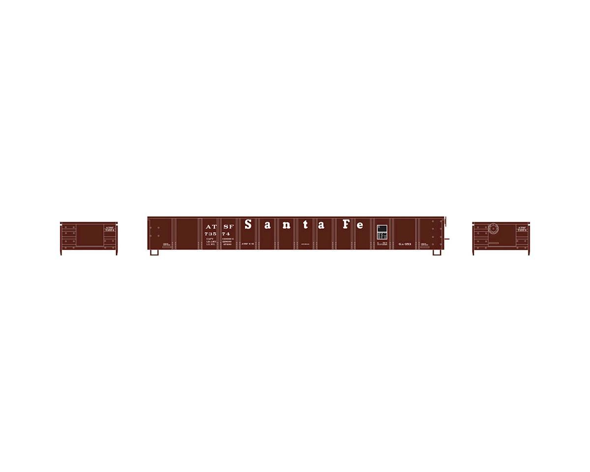 HO RTR 52' Mill Gondola, SF #73574 by Athearn