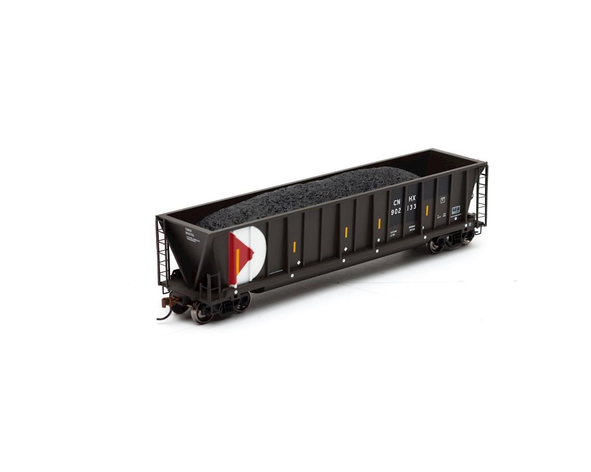 Athearn HO RTR Bathtub Gondola w/Coal Load, CNHX #902133