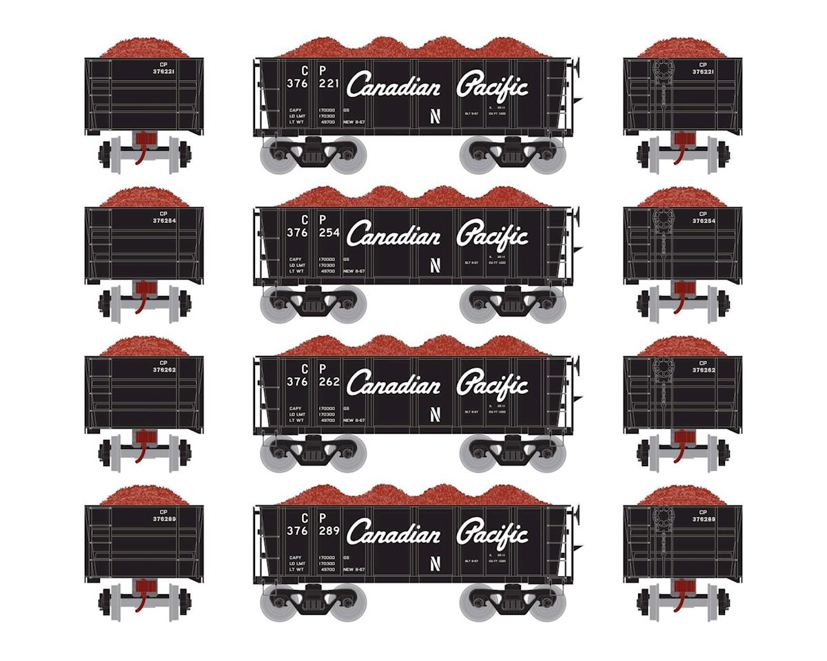 Athearn HO RTR 26' Ore Car Low Side w/Load, CPR #2 (4)
