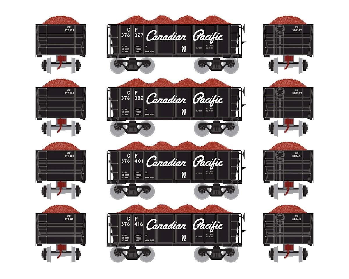 Athearn HO RTR 26' Ore Car Low Side w/Load, CPR #3 (4)