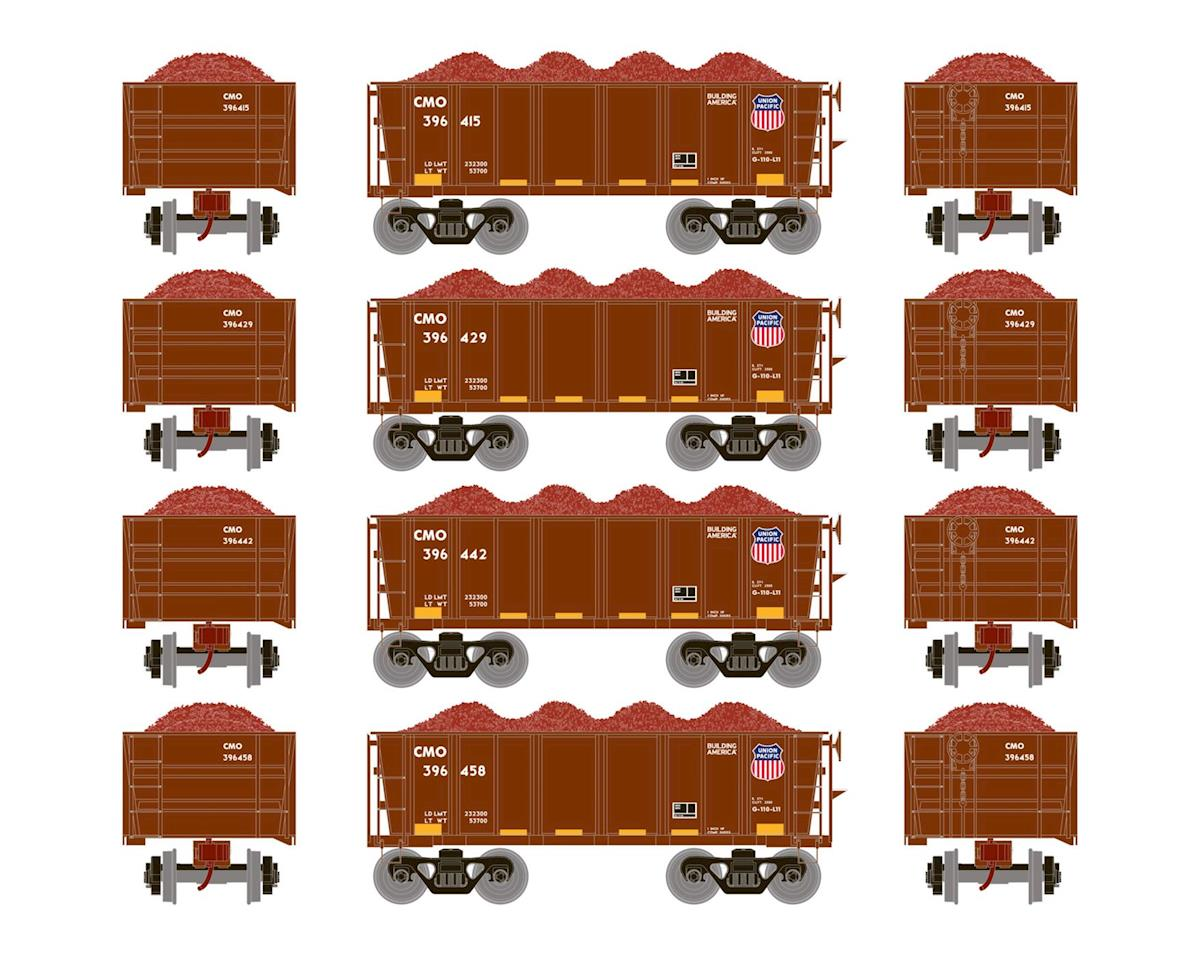 Athearn HO RTR 26' Ore Car Low Side w/Load, UP #2 (4)