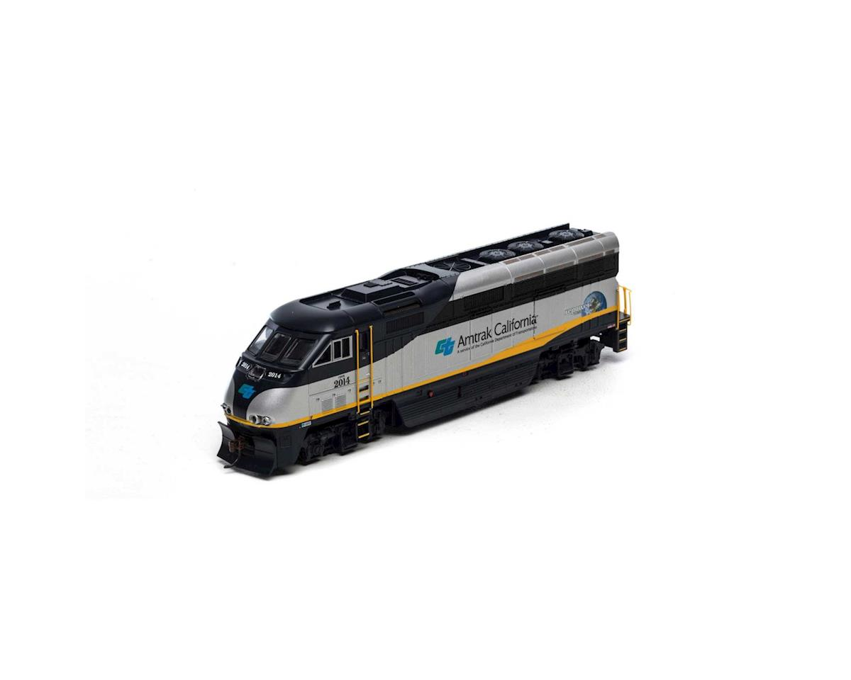 Athearn HO RTR F59PHI w/DCC & Sound,Amtrak/California#2014