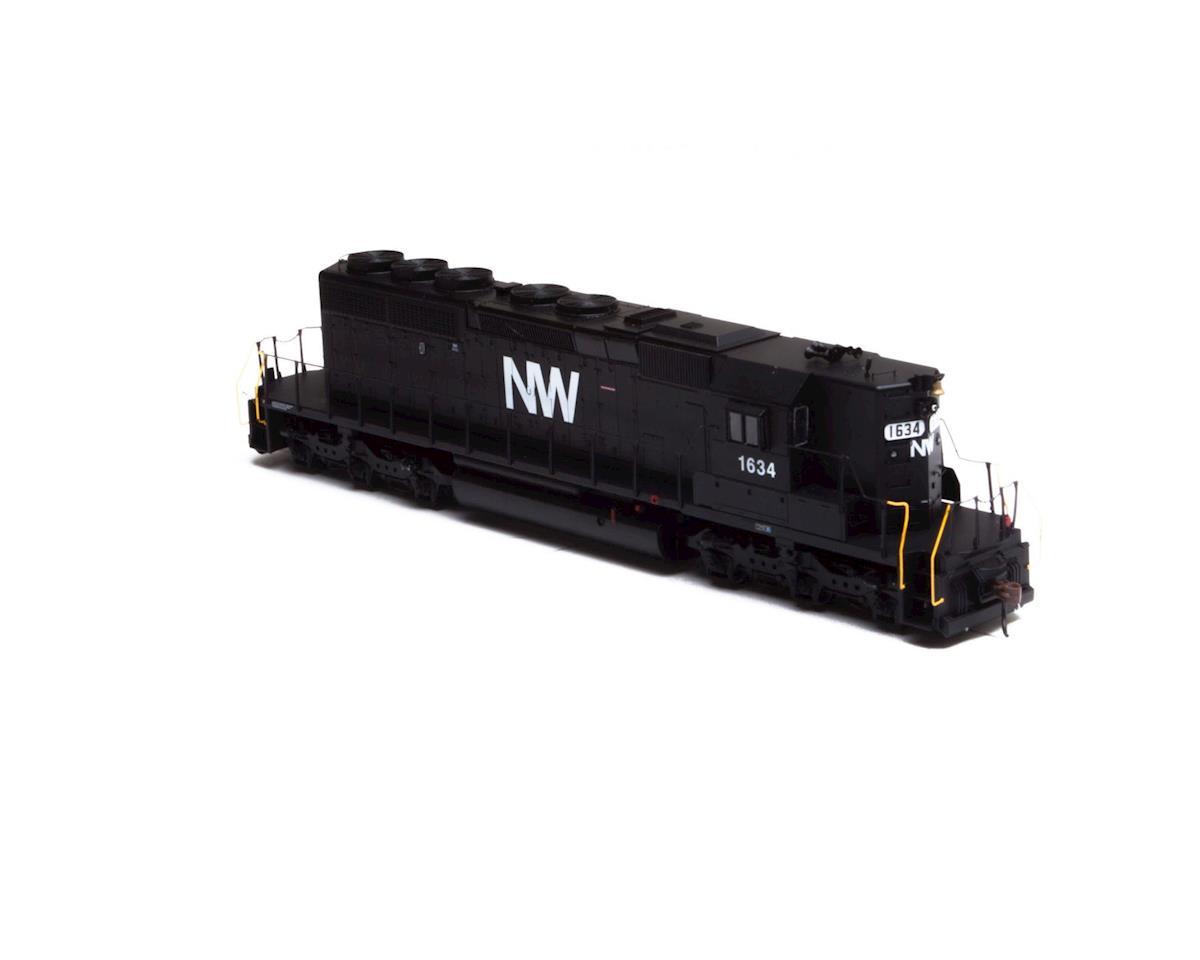 Athearn HO RTR SD40-2, N&W #1634