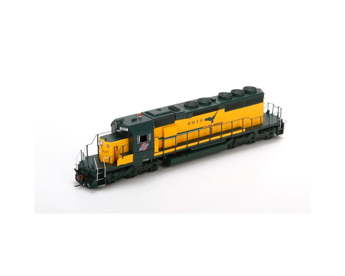 Athearn HO RTR SD40-2 w/DCC & Sound,C&NW/Falcon Service #1