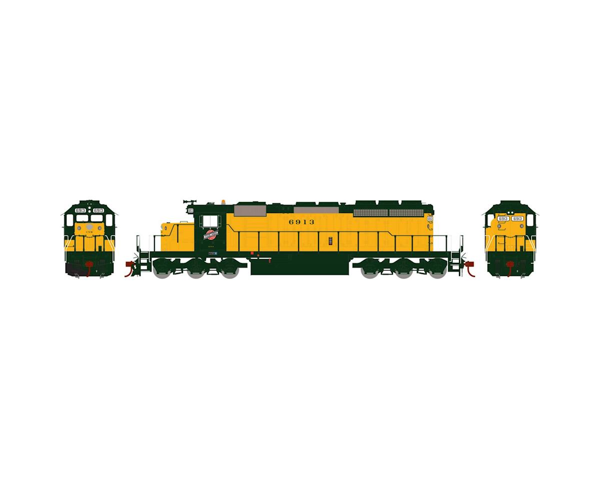 Athearn HO RTR SD40-2 w/DCC & Sound, C&NW #6913