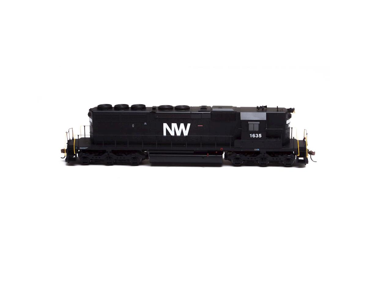 Athearn HO RTR SD40-2 w/DCC & Sound, N&W #1635