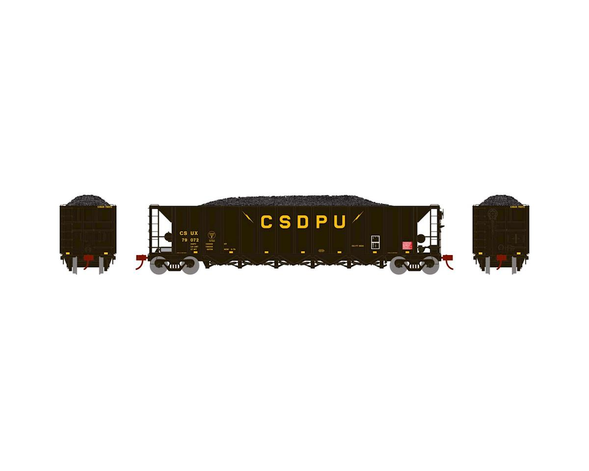 Athearn HO RTR 5-Bay Rapid Discharge Hopper, CSUX #79072