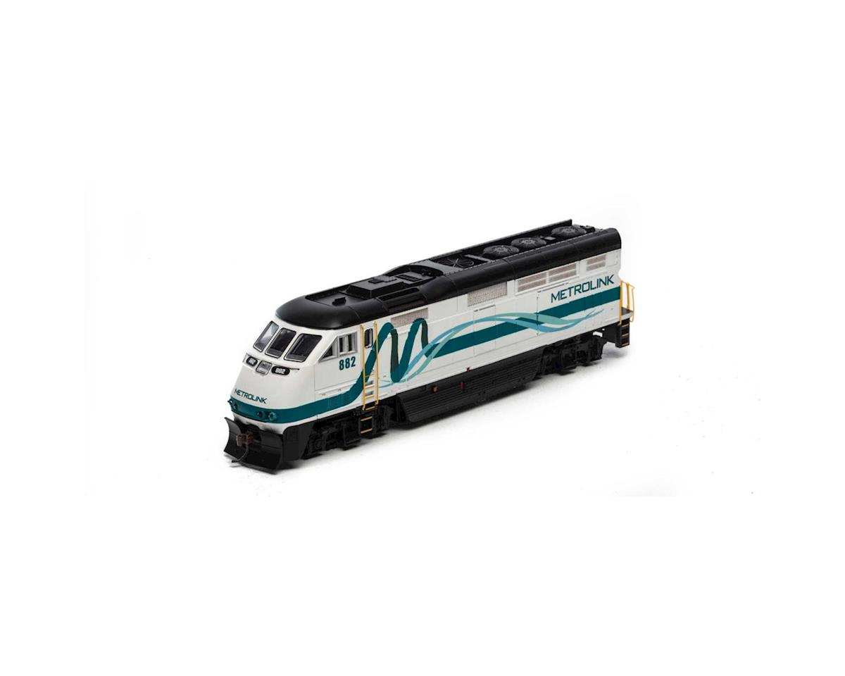 Athearn HO RTR F59PHI w/DCC & Sound, Metrolink #882