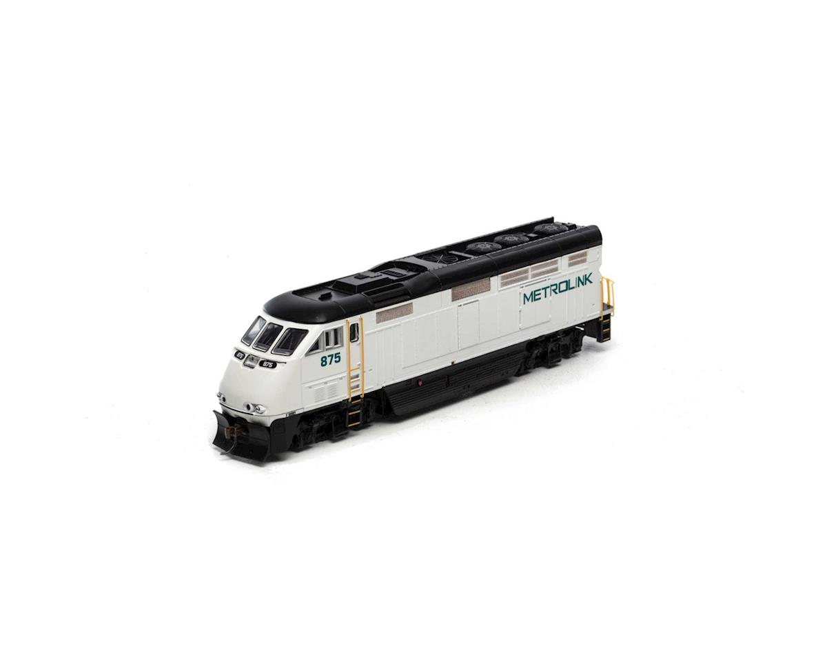 HO RTR F59PHI w/DCC & Sound, Metrolink #875 by Athearn