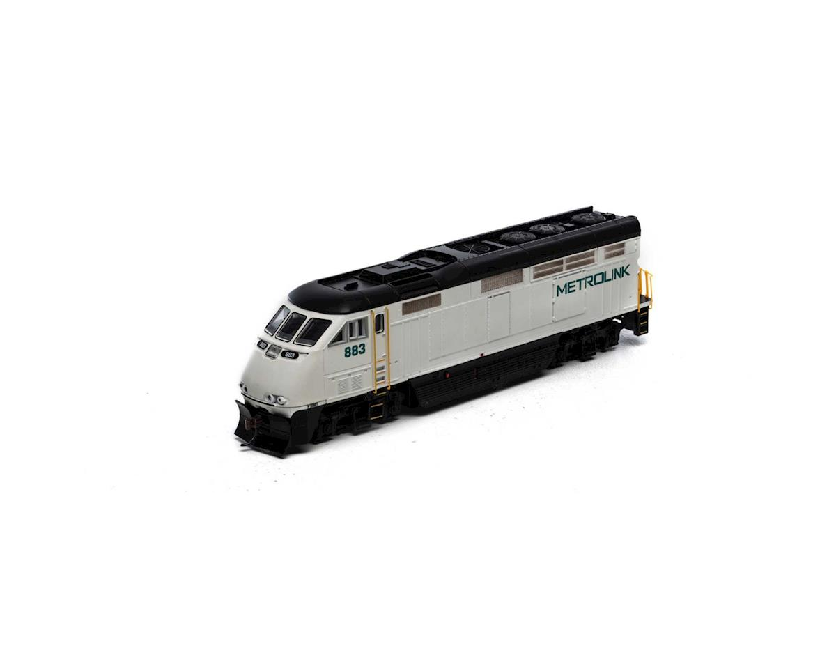 Athearn HO RTR F59PHI w/DCC & Sound, Metrolink #883