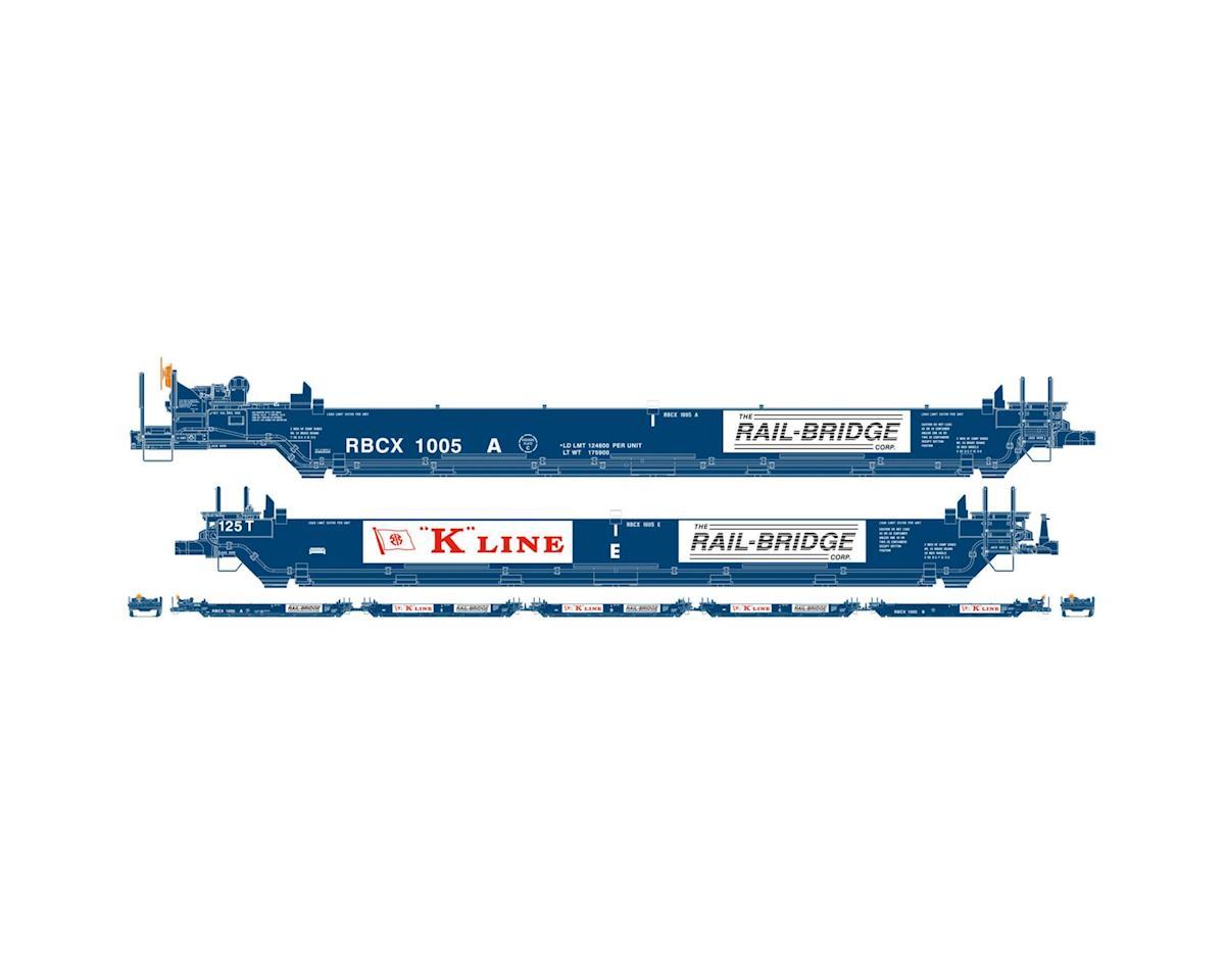Athearn HO RTR Maxi I/Early, K-Line #1005