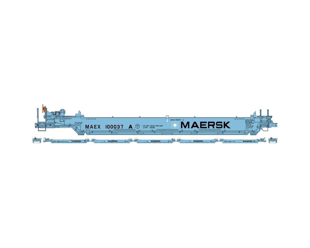 Athearn HO RTR Maxi I/Early, Maersk #100037