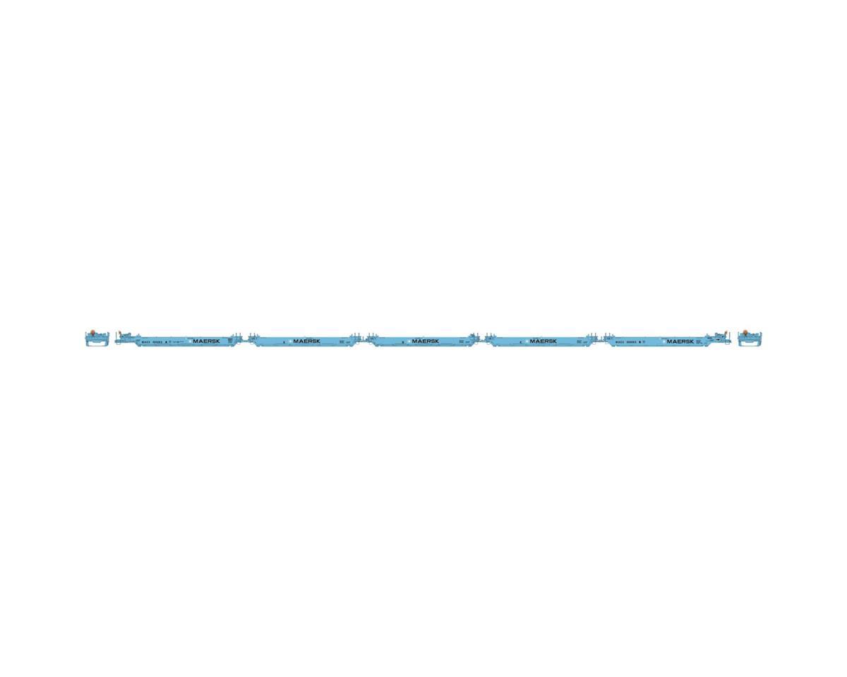 Athearn HO RTR Maxi I/Early, Maersk #100053
