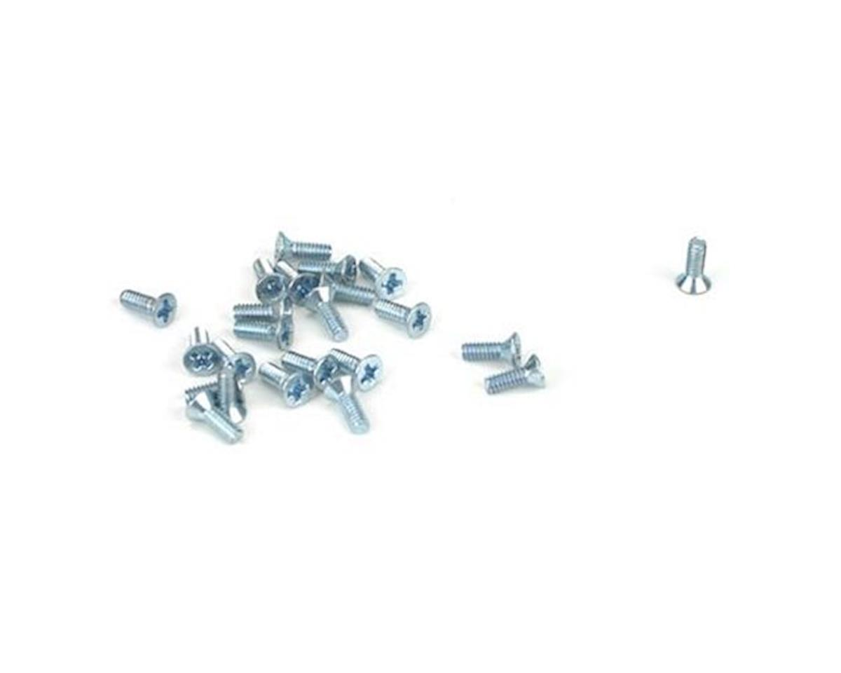 "Athearn Flat Head Screw, 2-56 x 1/4"" (24)"