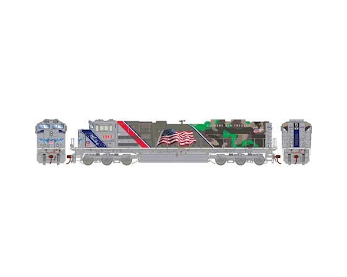 Athearn Ho Sd70ace W Dcc Sound Up Spirit Of 1943 Athg01943 Model Railroad Wiring How To Build A Train Layouts G Z S Toys Hobbies Hobbytown