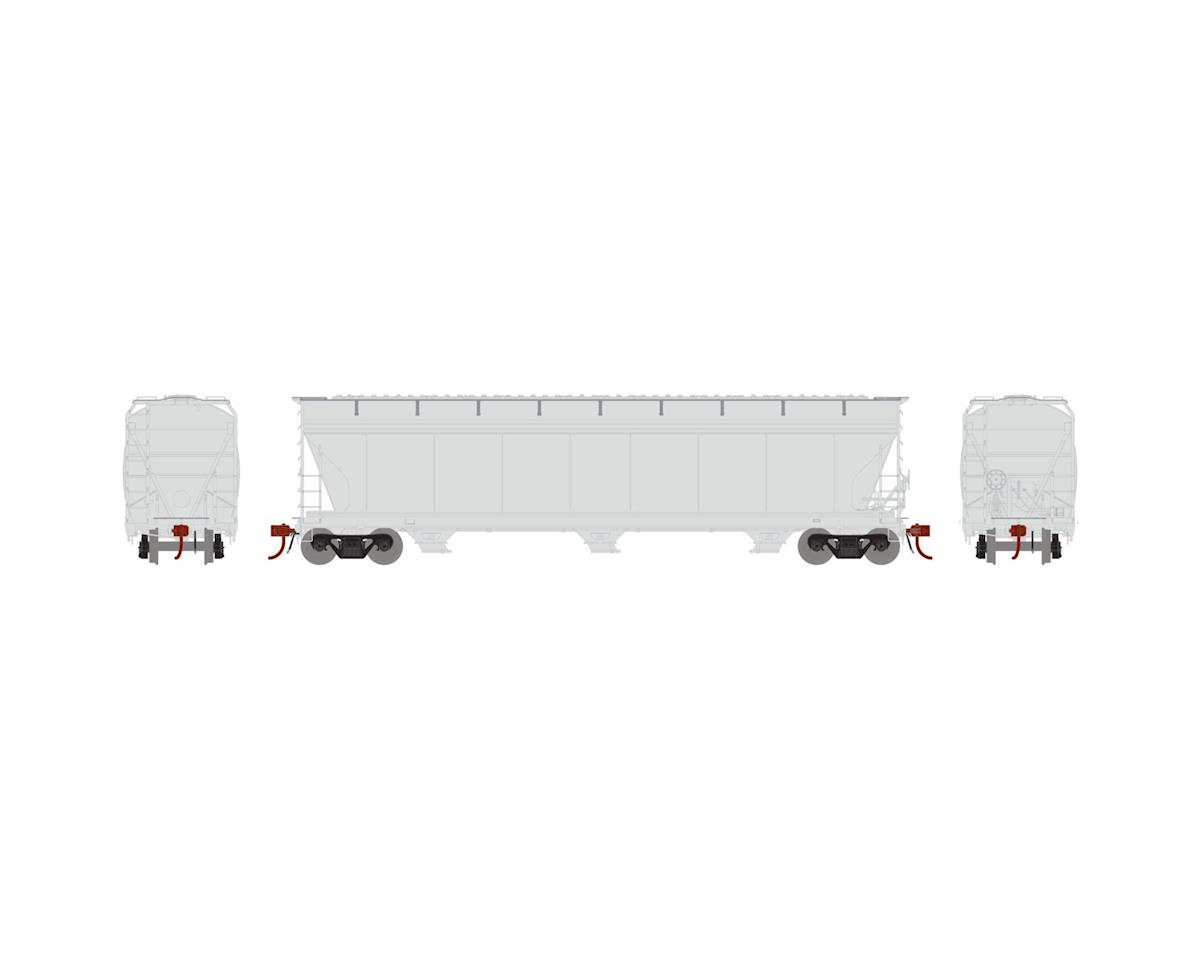 Athearn HO ACF 4600 3-Bay Centerflow Hopper, Undecorated