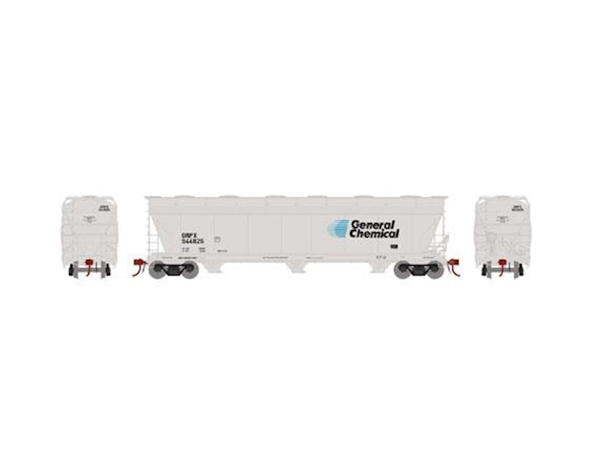 Athearn HO ACF 4600 3-Bay Centerflow Hopper, GRPX #944826