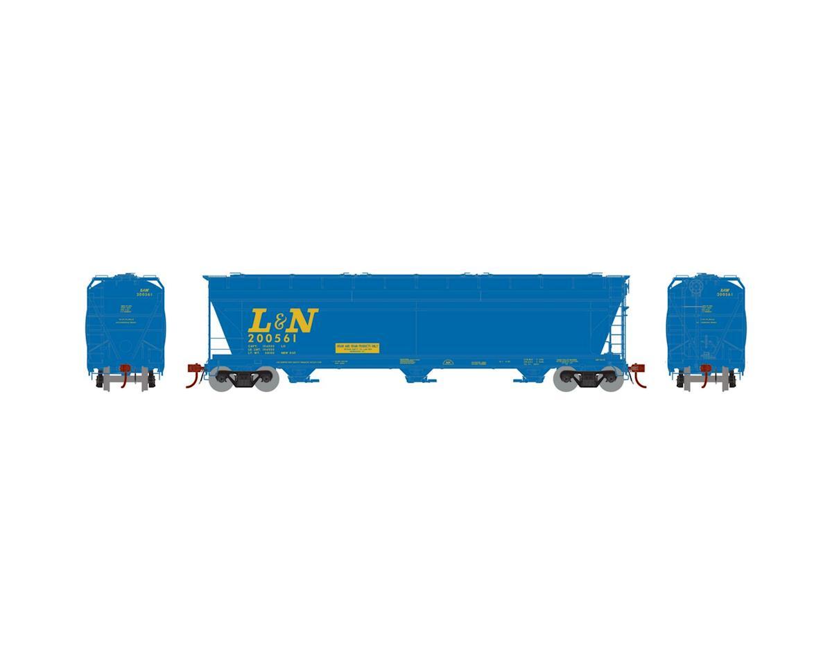 Athearn HO ACF 4600 3-Bay Centerflow Hopper, L&N #200561