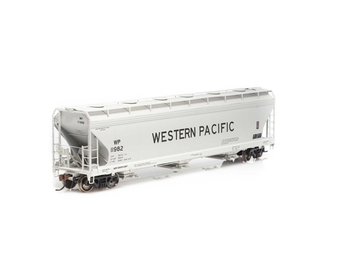 Athearn HO ACF 4600 3-Bay Centerflow Hopper, WP #11982