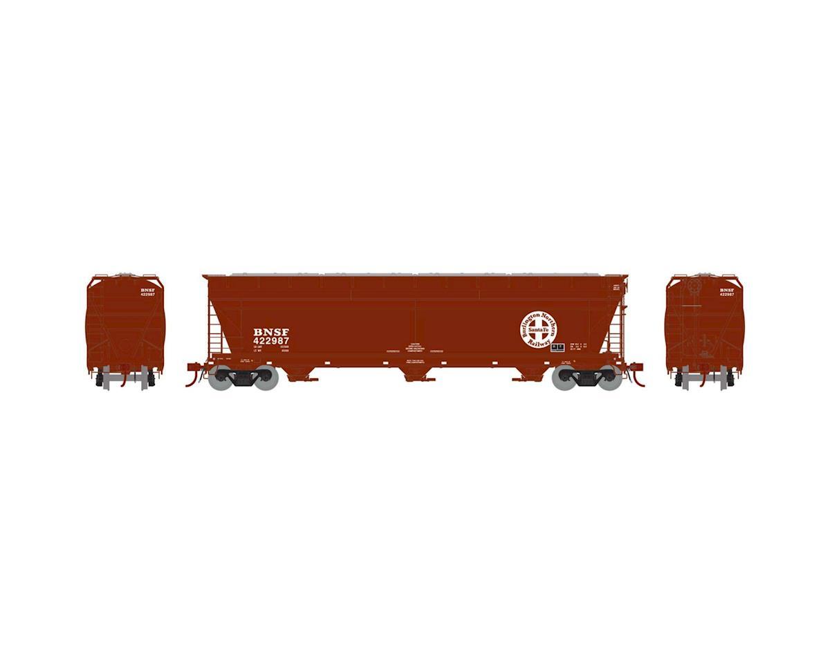 Athearn HO ACF 4600 3-Bay Centerflow Hopper, BNSF #422987