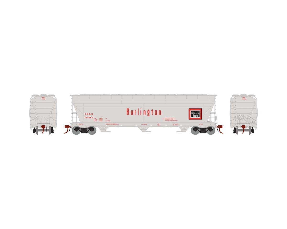 Athearn HO ACF 4600 3-Bay Centerflow Hopper,CB&Q#CBQ184586