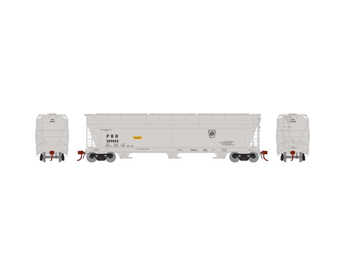 Athearn HO ACF 4600 3-Bay Centerflow Hopper, PRR #259842