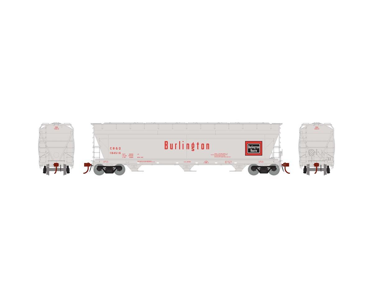 Athearn HO ACF 4600 3-Bay Centerflow Hopper,CB&Q#CBQ184516